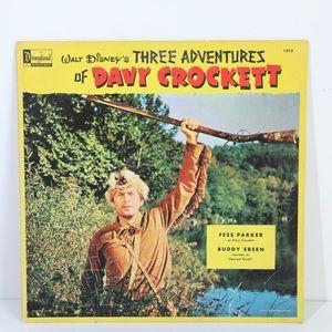 Walt Disney's Davey Crockett Record Album